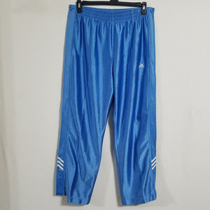 Vintage Adidas Mens Small Button Up Athletic Pants